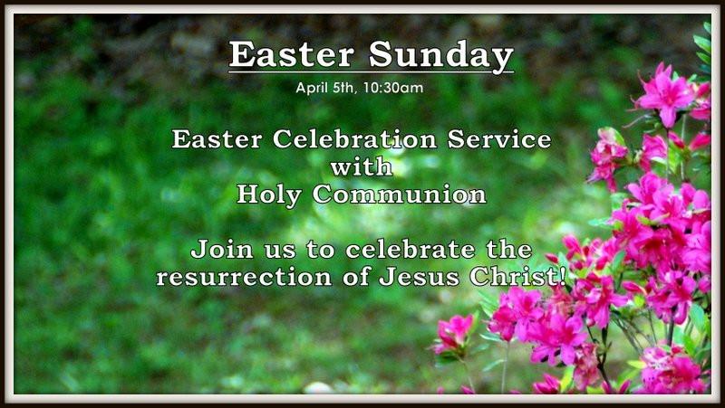 Easter Service Slider 2015